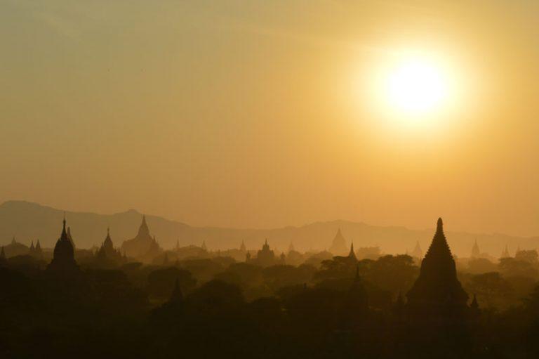 bagan myanmar templo