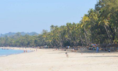 birmania playas