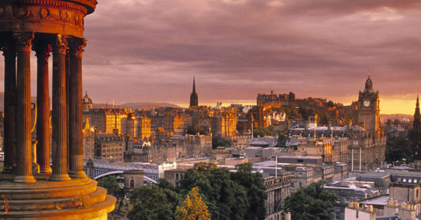 Edimburgo en octubre