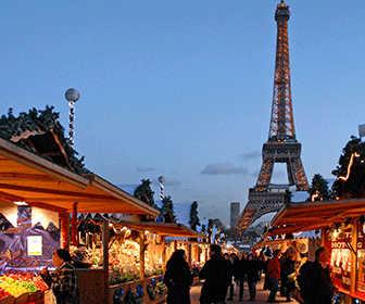 donde ir en navidad Paris