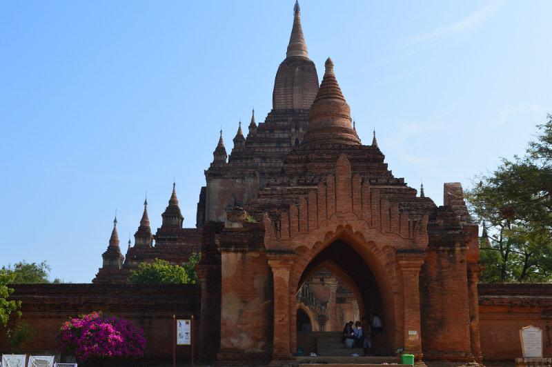 Sulamani templos bagan myanmar