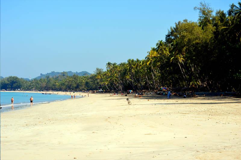 playas en birmania ngapali beach