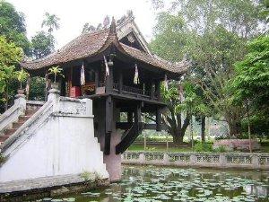 pagoda en hanoi
