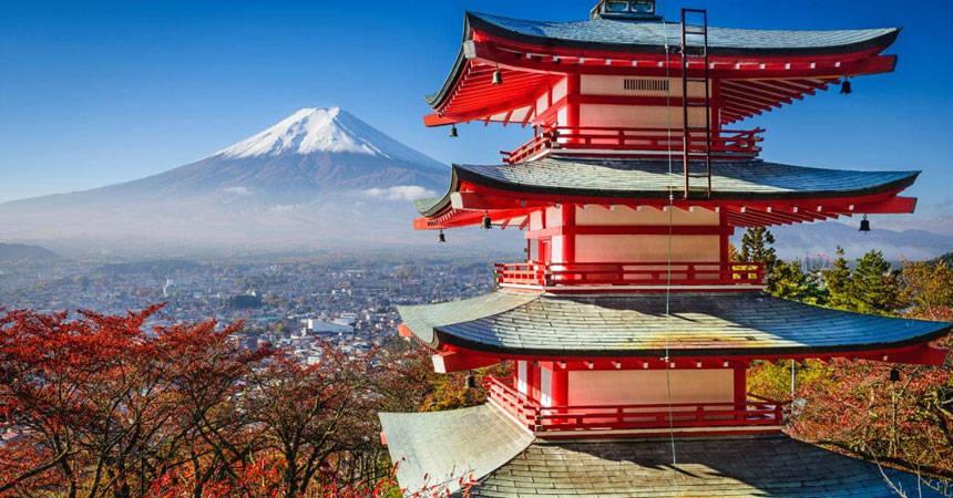 Mejores destinos de Japon