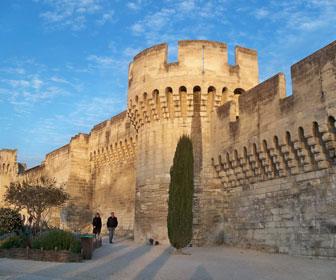 Las murallas de Aviñon